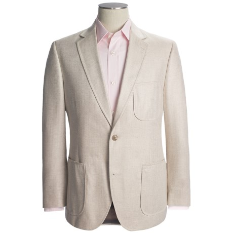Kroon Herringbone Sport Coat - Silk (For Men)
