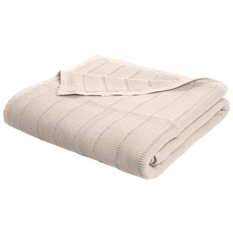Coyuchi Willow Weave Blanket - Twin, Organic Cotton