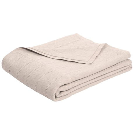 Coyuchi Willow Weave Throw Blanket - Organic Cotton