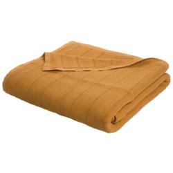 Coyuchi Willow Weave Blanket - King, Organic Cotton