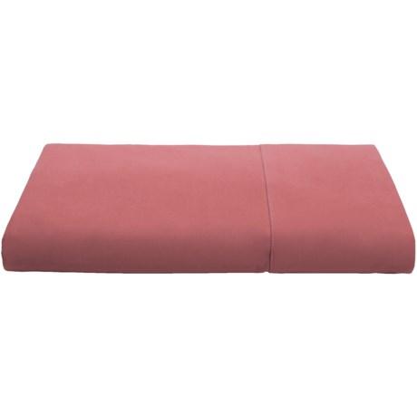 Coyuchi Percale Flat Sheet - King, 220 TC Organic Cotton