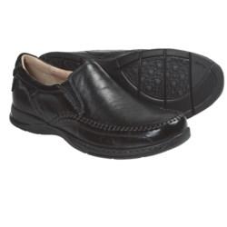 Florsheim Dawes Shoes - Leather, Moc Toe, Slip-Ons (For Men)