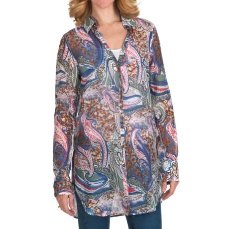 Bogner Fire + Ice Via Tunic Shirt - Cotton-Silk, Roll-Up Sleeve (For Women)
