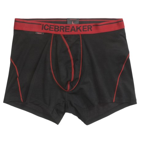 Icebreaker BodyFit 150 Anatomica Boxer Shorts - Stretch Merino Wool, Underwear (For Men)