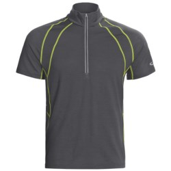 Icebreaker GT 150 Run Quest Shirt - Merino Wool, Zip Neck, Short Sleeve (For Men)