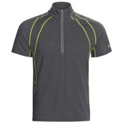 Icebreaker GT 150 Run Quest Shirt - Merino Wool, Zip Neck, Short Sleeve (For Men)