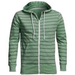 Horizontal Stripe Hoodie Sweatshirt (For Men)