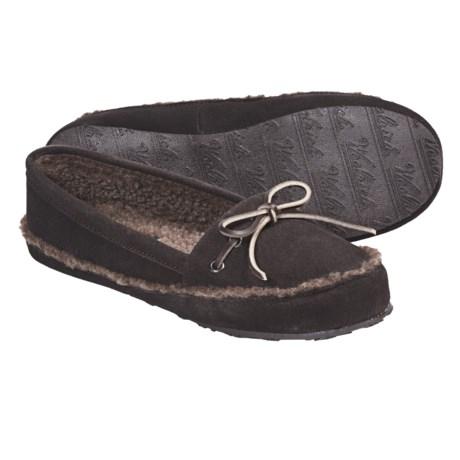 Woolrich Stepstone Slippers - Suede, Berber Fleece (For Women)
