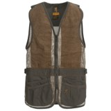 Browning SXS Suede Shooting Vest (For Men)