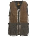 Browning SXS Suede Shooting Vest (For Men)