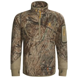 Browning Dirty Bird Smoothbore Fleece Pullover - Zip Neck (For Men)