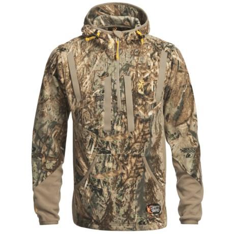 Browning Dirty Bird Fleece Pullover - Zip Neck (For Big Men)