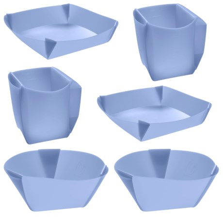 Orikaso Fold-Flat Dinner Set - For Two