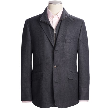 Kroon Wool-Cashmere Sport Coat - Zip-Out Bib (For Men)