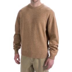 Viyella Lambswool Sweater - Long Sleeve (For Men)