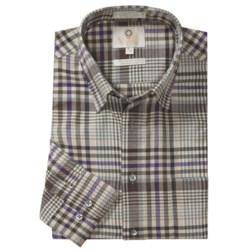 Viyella Multi-Check Sport Shirt - Hidden Button-Down Collar, Long Sleeve (For Men)
