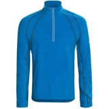 Icebreaker GT 200 Run Quest Base Layer Top - Merino Wool, Zip Neck, Long Sleeve (For Men)