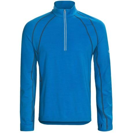 Icebreaker GT 200 Run Quest Base Layer Top - Merino Wool, Zip Neck, Long Sleeve (For Men)