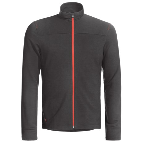 Icebreaker GT 260 Commute Cycling Jersey - Merino Wool, Long Sleeve (For Men)