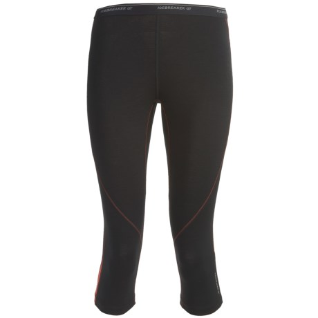 Icebreaker GT200 Pace Legless Capris - Stretch Merino Wool (For Women)