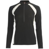 Icebreaker Bike Grace Cycling Jersey - Merino Wool, Long Sleeve (For Women)