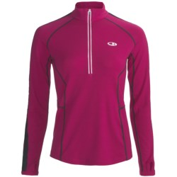 Icebreaker GT Run Quest Pullover Shirt - Merino Wool, Zip Neck, Long Sleeve (For Women)