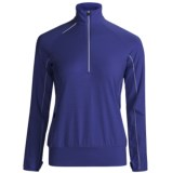 Icebreaker GT Run Rush Pullover Shirt - Merino Wool, Zip Neck, Long Sleeve (For Women)