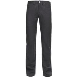 Ivory Wool Heather 5-Pocket Pants (For Men)