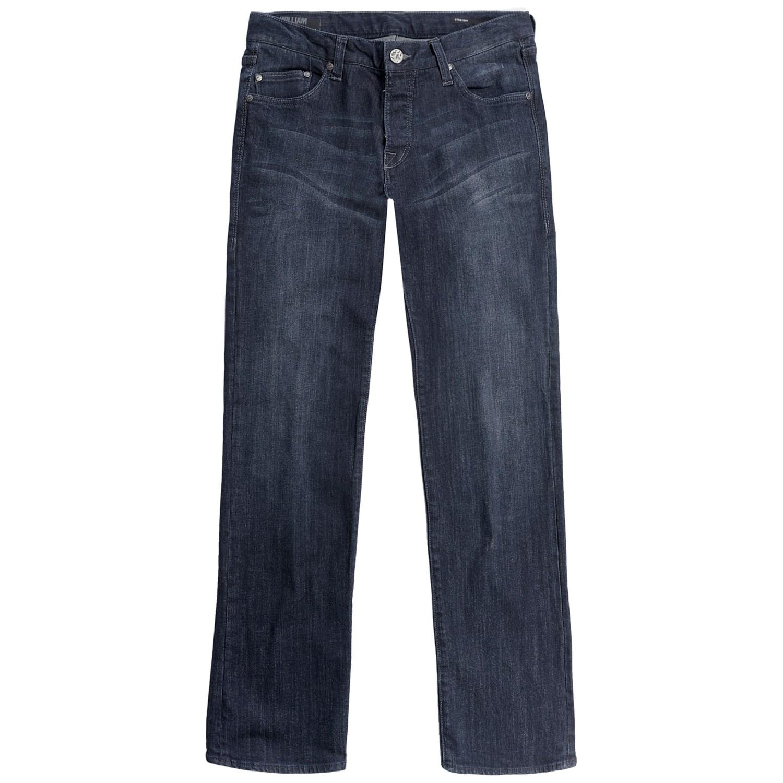 William Rast Luke Straight-Leg Denim Jeans (For Men) 5486U - Save 84%