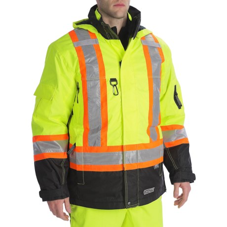 Specially made High Visibility 7-in-1 Parka - Insulated (For Men)