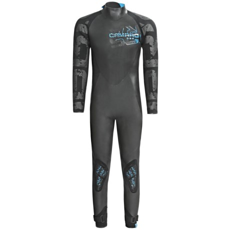 Camaro Supra Surfing Overall Wetsuit - 4/3/2mm (For Men)