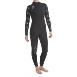 Camaro Ice Tec Surfing Wetsuit - Semi-Dry 5/4mm (For Women)