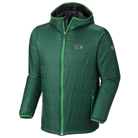 Mountain Hardwear Thermostatic Hooded Jacket - Insulated (For Men)
