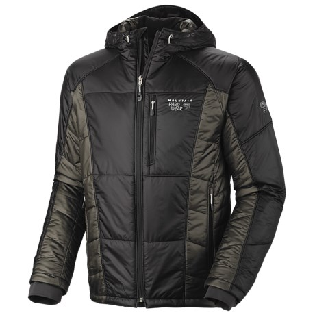 Mountain Hardwear Hooded Compressor Jacket - Insulated (For Men)