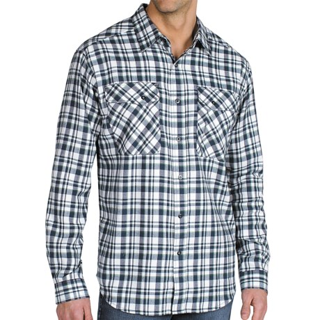 ExOfficio Roughian Plaid Flannel Shirt - Long Sleeve (For Men)