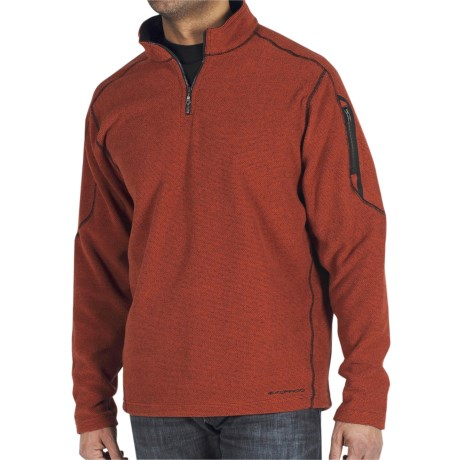 ExOfficio Make My Day Fleece Pullover - Zip Neck (For Men)