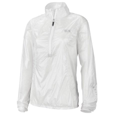 Mountain Hardwear Ghost Whisperer Anorak Jacket - Super Ultra Lightweight (For Women)