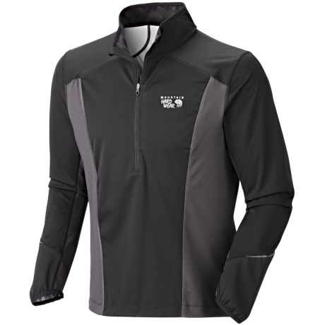 Mountain Hardwear Effusion Power Pullover Jacket -  Zip Neck (For Men)