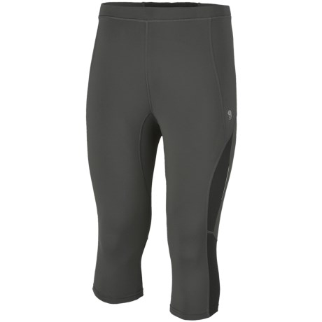 Mountain Hardwear Mighty Power 3/4 Tights with MicroClimate Zoning Panels (For Men)