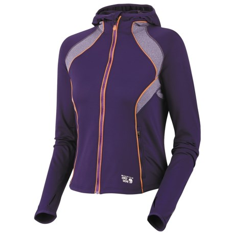 Mountain Hardwear Super Power Hoodie Jacket - Full Zip (For Women)