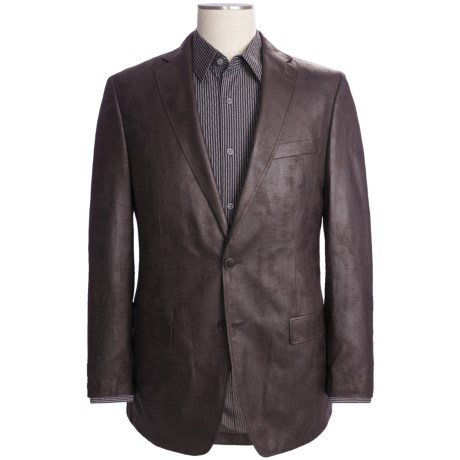 Calvin Klein Faux-Leather Sport Coat (For Men)