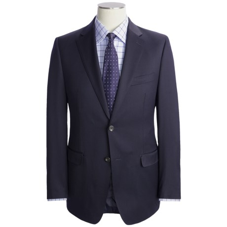 Lauren by Ralph Lauren Navy Wool Suit - Slim Fit (For Men)
