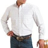Roper Amarillo Plaid Shirt - Long Sleeve (For Men)
