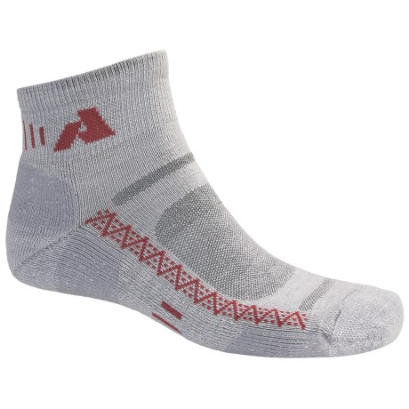 Point6 First Ascent Mountain Training Mini Socks - Wool Blend, Lightweight, Ankle (For Men and Women)