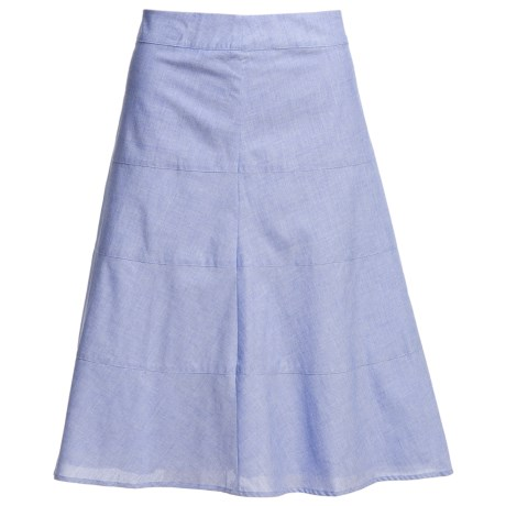 Pendleton Tami Tiered Cotton Skirt (For Women)