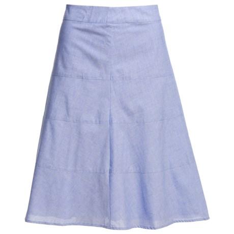Pendleton Tami Tiered Cotton Skirt (For Women)