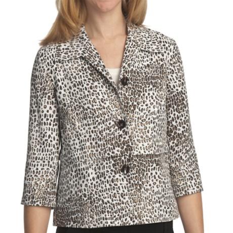 Pendleton Wild Card Jacket - 3/4 Sleeve (For Plus Size Women)