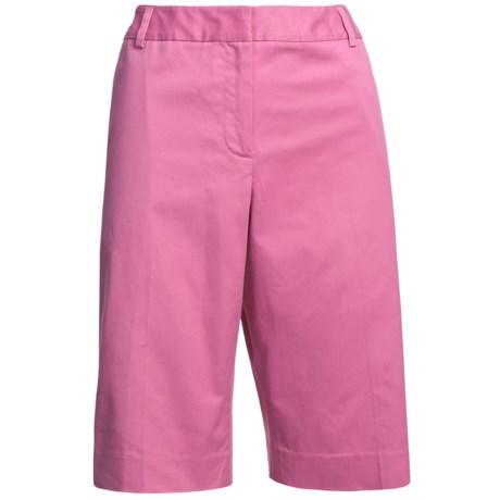 Pendleton Sunnyside Stretch Cotton Shorts (For Women)