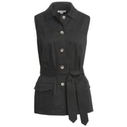 Pendleton Sunnyside Stretch Cotton Vest (For Women)