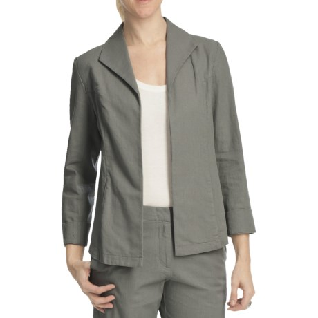Pendleton Summer Day Linen-Rich Jacket (For Plus Size Women)